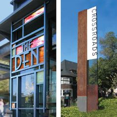 Environmental graphics, Print, Corporate Identity and Website design in Los Angeles - Davies Associates