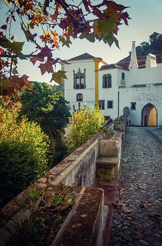 Back side of Sintra Palace