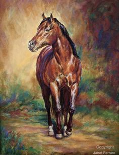 Western decor horse art print of 'Ima by FerraroFineArt on Etsy