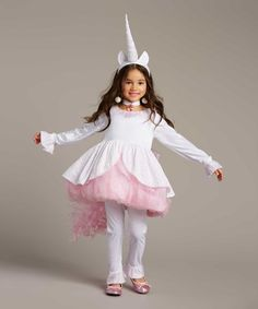 Love this Magical Unicorn Dress - Toddler & Girls on #zulily! #zulilyfinds