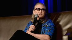 The actress and writer became famous for Star Wars, then used her fame to speak up about mental illness.