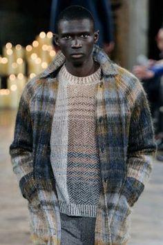 A/W 14/15 New York men's key knitwear designersbilly Reid