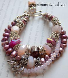 A personal favorite from my Etsy shop https://www.etsy.com/listing/256797707/on-sale-tourmaline-bracelet-pink-opal