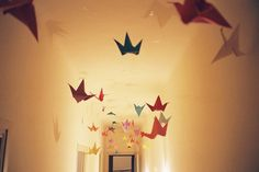 Another Girl Another Planet: Decorando com origamis