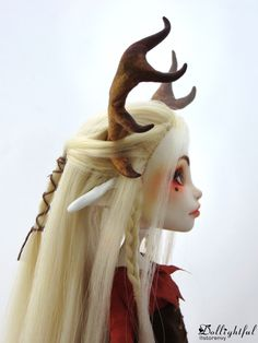 Callista fawn custom ooak monster high doll from Dollightful