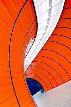 """Orange Snake"" by Christian Öser"