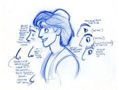 deerfriendsblog:  Character design - Aladdin 1992