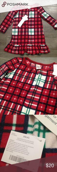 Gymboree girl NWT pajama nightgown  size 4 Brand new. Gymboree Pajamas Nightgowns