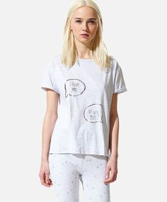 Camiseta texto - OYSHO