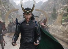 Loki from the new Ragnarok trailer him and his daggers ohhhh boy...