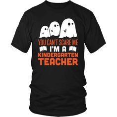 Kindergarten Teacher - Halloween Ghost