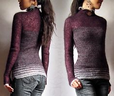 Ravelry: Bellatrix pattern by Kessa Tay Anlin. Would change the neck and the ends of the sleeves, but like the color blocking/combos Sweater Knitting Patterns, Knit Sweaters, Bellatrix, Sweater Design, Knit Fashion, Knit Or Crochet, Clothing Patterns, Clothes, Knitwear