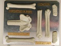 Large Skeleton (bottom half) H103 Halloween Chocolate Candy Mold