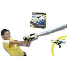 ¡Chorros de diversión con esta pistola de agua Aqua Shooter de Aqua Force!