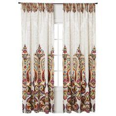 "Mudhut™ Samovar Window Panel  - Cream (55x84"")"