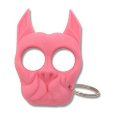 Personal Security Products Brutus Self Defense Keychain - Pink