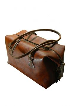 I've always wanted a large leather duffle bag for travel! :)