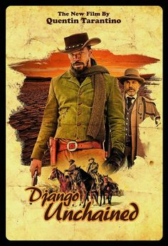 Django Unchained is a 2012 American western film written and directed by Quentin Tarantino. The film stars Jamie Foxx, Christoph Waltz, Leonardo DiCaprio, Kerry Washington, and Samuel L. Death Proof, Reservoir Dogs, Django Unchained Soundtrack, Film Movie, Cinema Movies, Cinema Cinema, Indie Movies, Drama Movies, Django Unchained