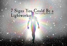 Do you feel different from everyone else? Do you have a nagging feeling there is apurpose you came to earth for? It could be because you are a Lightworker. Many people feel like they are different…