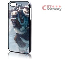 Volibear League of Legends 563CRT iPhone 4/4s, iPhone 5/5s case, Plastic or Rubber, Samsung Galaxy S3