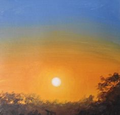 Learn how to paint a sunset sky in #acrylics with Jon Cox as part of our #landscapes academy. Now available on ArtTutor.