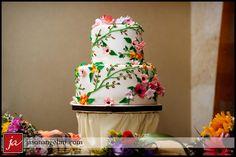 Wedding Cake by Kim Yelvington at Chocolate Pi in Tampa, FL