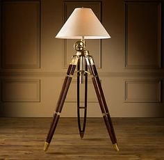 Surveyor Lamps. I love the industrial elegance to this piece. There's one a taget for sale for like $60.00... considering...