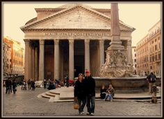 """Walk the streets of Rome and see the Pantheon. Find out more at """"Down the Wrabbit Hole - The Travel Bucket List"""". #travel #bucketlist"""