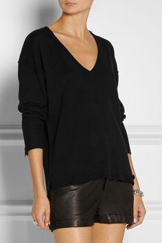 Karl Lagerfeld Laudine wool-blend sweater NET-A-PORTER.COM