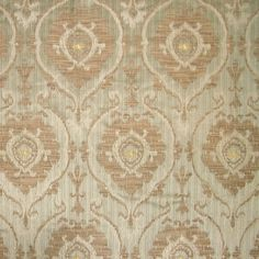 "Stark Fabric - Old World Weavers ""Libretto"" Olive"