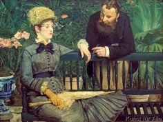 Edouard Manet - Dans la serre