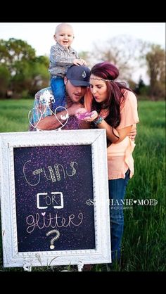 Gender Reveal idea!! Too cute must do!