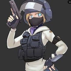 Rainbow Six Siege Anime, Rainbow Six Siege Memes, Rainbow 6 Seige, Tom Clancy's Rainbow Six, Rainbow Art, Comic Pictures, Manga Pictures, Anime Military, Dope Wallpapers