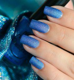 Penelope Luz 'Hortense' ~ bright periwinkle blue ~ swatch by Nail Art Sakura