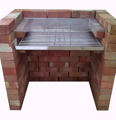 brick bbq Outside Living, Outdoor Living, Brick Grill, Diy Grill, Charcoal Bbq, Backyard Bbq, Backyard Projects, Pergola Patio, Ovens