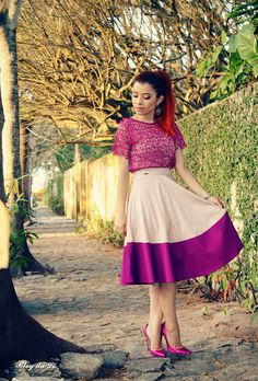 Blog da Lê-Moda e Estílo: Look - Mulher de Fibra