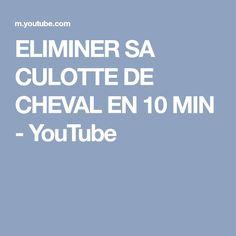 ELIMINER SA CULOTTE DE CHEVAL EN 10 MIN - YouTube