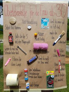 Survival Aid # – New ideas - Geburtstag 30th Birthday Gifts, Special Birthday, Happy Birthday Cards, Birthday Presents, Celebration Balloons, Celebration Around The World, Love Anniversary, How To Tie Dye, Diy Presents