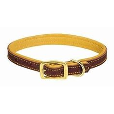 The collars are fully lined with soft, supple deerskin for your dog's comfort. The ultimate in canine comfort! Constructed of single-ply harness leather. Leashes are also fully lined with soft, supple deerskin for the handler's comfort.  Click NOW --> http://k9boss.com/weaver-deer-ridge-leather-collar.html
