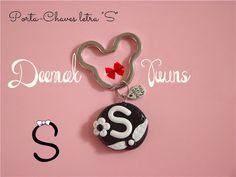 "Deemak Twins: Porta-Chaves ""Letra S"""