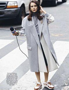 visual optimism; fashion editorials, shows, campaigns & more!: run baby run: sam laskey by adrian mesko for glamour france november 2013
