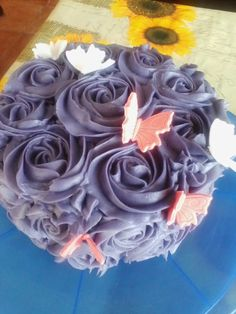 Tarta de rosas Marzos 2014