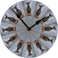Auction item 'Clock - customized with your pet photo' hosted online at 32auctions.