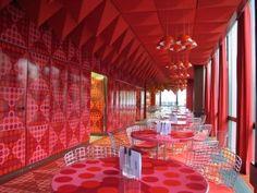 Vernon Panton canteen design