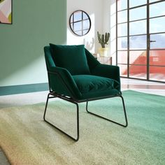 Great pieces to add to your home. Mid Century Armchair, Inexpensive Furniture, Extra Seating, Occasional Chairs, Living Room Modern, Upholstered Chairs, Online Furniture, All Modern, Side Chairs