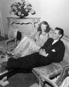 Rita Hayworth #Glenn Ford