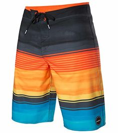 7e150ebf21 Look at this Orange & Black Hyperfreak Heist Board Shorts