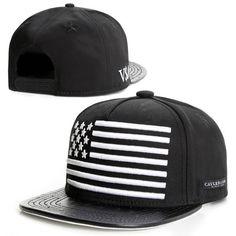 b9cf0c951b82b 2015 new fashion black leather snapback caps baseball hats for men women  sport