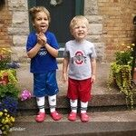 VIVOBAREFOOT Ultra Kids in Red. Boys getting ready for soccer!