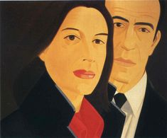 "Ada And Alex"" by Alex Katz"